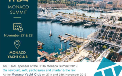 ASTTRAL sponsor of the IYBA Monaco Summit 2019